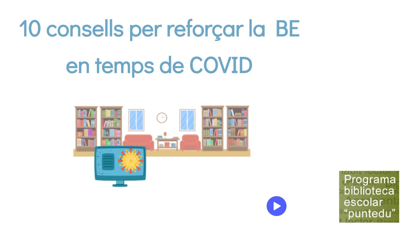 10 consells per reforçar la biblioteca escolar en temps de COVID | Servei  Educatiu del Baix Empordà